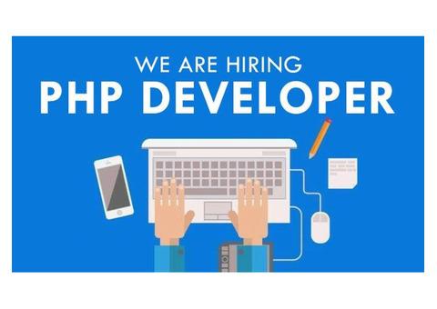 Urgent hiring for PHP Developer